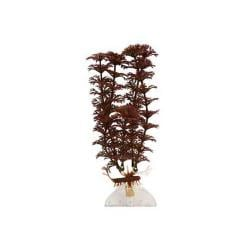 "Aquaflora Plastic Plant 9"" Red Ambulia"