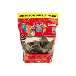 Pig Ear Printed Ziploc Bag 25pk