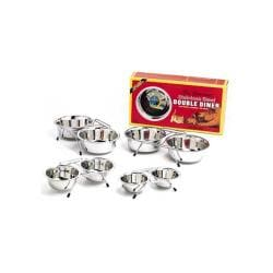 Stainless Double Diner 2 Quart