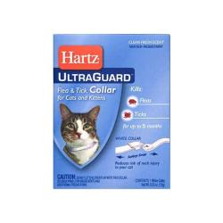 "Ultraguard Flea & Tick Cat Collar 13"" - White"
