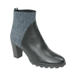 Women's The Flexx Dipurple Ankle Boot Black Cashmere