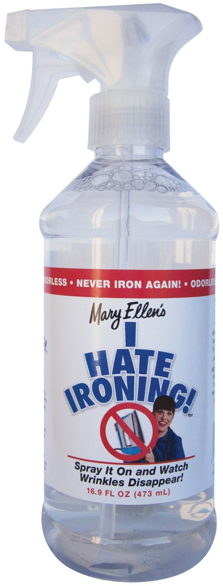 Mary Ellen's I Hate Ironing! Spray Wrinkle Remover 16oz