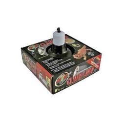 "Clamp - lamp W/porcelain Socket 5.5"" (black)"