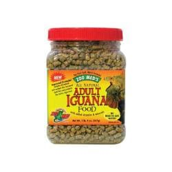 Iguana Adult Soft - moist Pellets 5lb (jar)