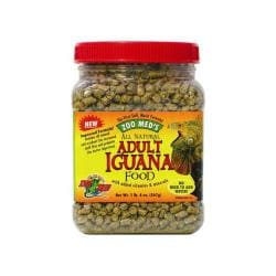 Iguana Adult Soft - moist Pellets 20oz (jar)