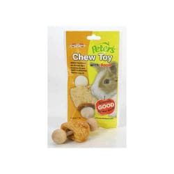 Peters Rabbit Chew Toy With Apple