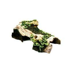 Resin Ornament - Bent Log Hideaway Small
