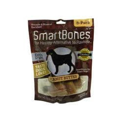 Smart Bone Peanut Butter Large Bone 3pk