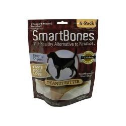 Smart Bone Peanut Butter Medium Bone 4pk