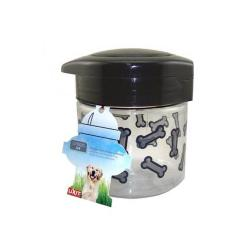 Plastic Treat Jar With Lid 64oz