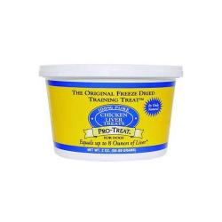 Pro - treat Freeze Dried Chicken Liver 2oz