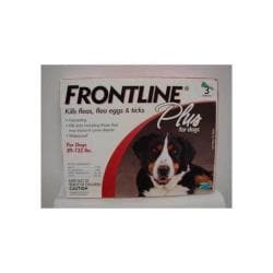 Frontline Plus Red 89 - 132 Lbs. Xlg 3pk