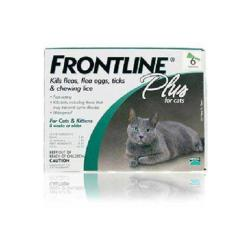 Frontline Cat Plus (all Sizes) 6pk