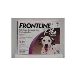 Frontline Plus Purple 45 - 88 Lbs. (lg) 3pk