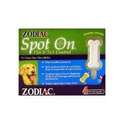 Zodiac Spot - on Large Dog (4 - 3cc Applicators) 4 Month
