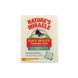 Nature's Miracle Quick Results Training Pads 50 Count