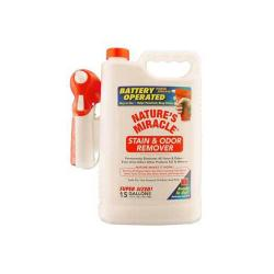 Nature's Miracle Stain And Odor Remover Power Sprayer 1.5 Gallon
