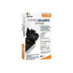 Sentry Fiproguard Max Dog Flea & Tick Sqz - on Up To 22lb 2x3ct