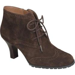 Women's Aerosoles Sleep In Dark Brown Suede