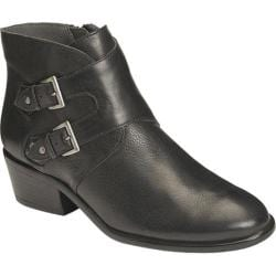 Women's Aerosoles Urban Myth Bootie Black Leather