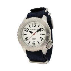 Men's Momentum Watch Torpedo NATO Watch White/Blue NATO