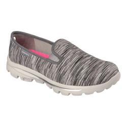 Women's Skechers GOwalk Move Obscure Slip On Gray