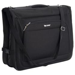 Delsey Helium Quantum Book Open Garment Bag Black
