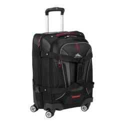 High Sierra AT7 Black 22-inch Carry On Rolling Spinner Duffel Bag