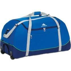 High Sierra Royal Cobalt/True Navy Wheel-N-Go 24-inch Duffel Bag