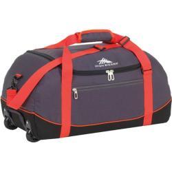 High Sierra Wheel-N-Go Mercury/Black 30-inch Duffel Bag