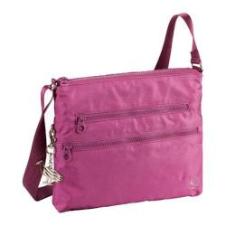 Sumdex Soft Casual Flat Crossbody Bag Magenta Haze