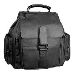 David King Leather 323 Medium Citypack Black