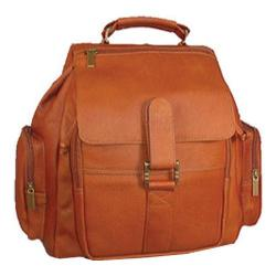 David King Leather 323 Medium Citypack Tan