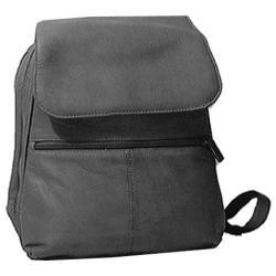 Women's David King Leather 351 Women's Organizer Backpack Black
