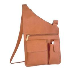 David King Leather 388 Cross Body Bag Tan