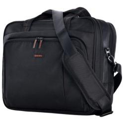 Olympia Elevate Slim Briefcase Black