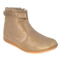 Girls' Bumbums & Baubles Larken Boot Gold Shimmer Leather