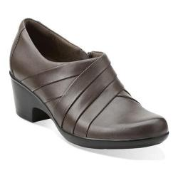 Women's Clarks Genette Rise Slip-On Grey Leather