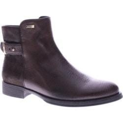 Women's Azura Sable Ankle Boot Dark Brown Manmade
