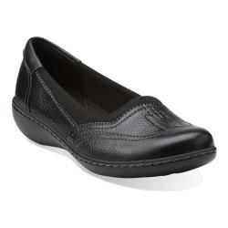Women's Clarks Ashland Hustle Black Leather
