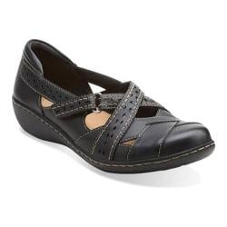 Women's Clarks Ashland Spin Black Leather