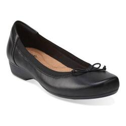 Women's Clarks Blanche Nora Black Leather
