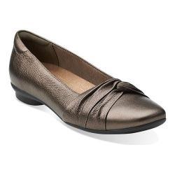 Women's Clarks Candra Gleam Bronze Leather