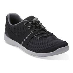 Women's Clarks Charron Kelly Sneaker Black Synthetic