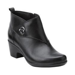 Women's Clarks Malia Surf Ankle Boot Black Leather