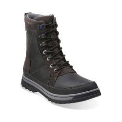 Men's Clarks Ripway Peak GORE-TEX Black Leather