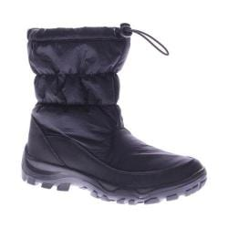 Women's Spring Step Mccarthy Snow Boot Black Nylon