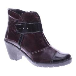 Women's Spring Step Manifest Bootie Bordeaux Patent Leather