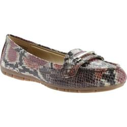 Women's Bandolino Niverta Flat Brown Multi/Brown Multi Synthetic