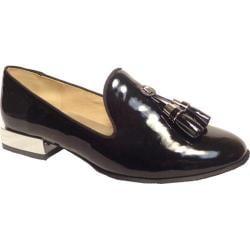 Women's Bellini Brittany Tassel Loafer Black Patent